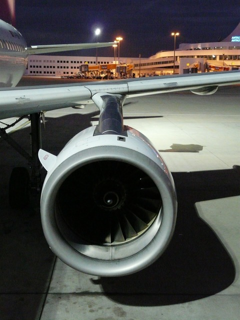 Turbine engine aircraft, science technology.