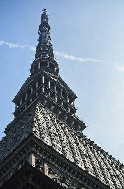 Turin piedmont italy, architecture buildings.