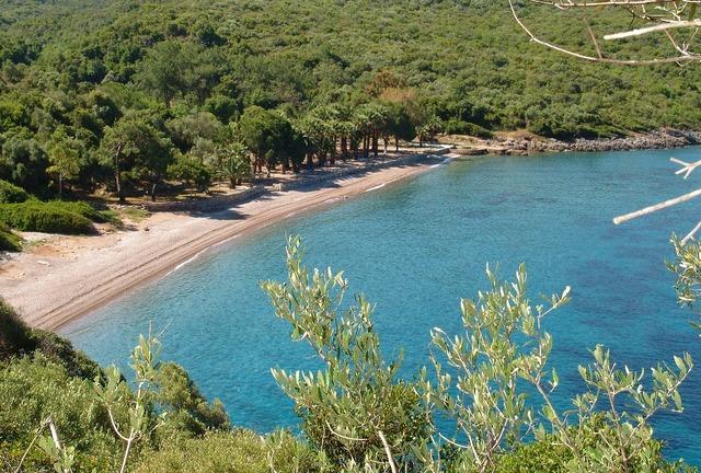 Turkey datca beach, travel vacation.