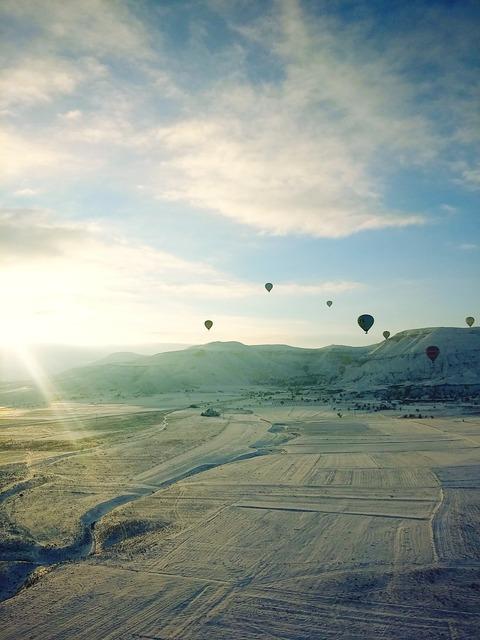 Turkey sunshine snow.