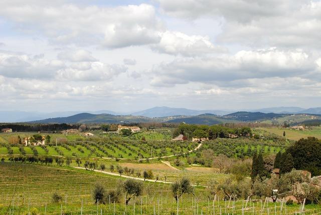 Tuscany chianti italy, nature landscapes.
