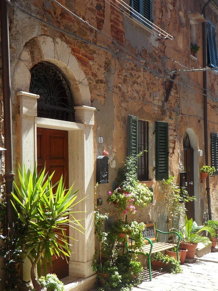 Tuscany hill italy, architecture buildings.