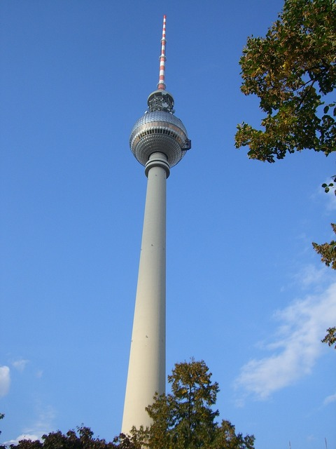 Tv tower berlin alexanderplatz, places monuments.