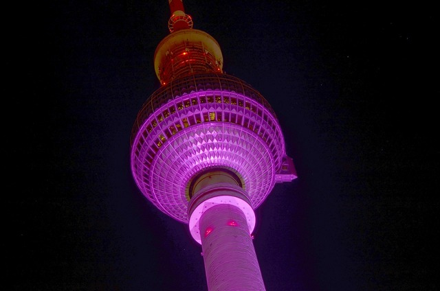 Tv tower berlin festival of lights, places monuments.
