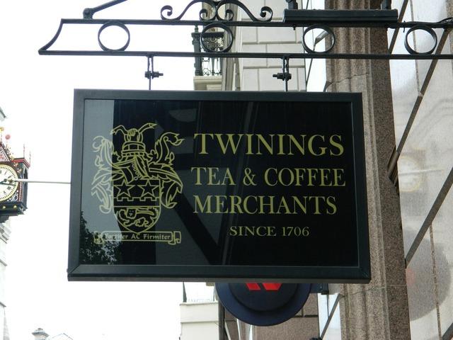 Twinings tea strand.