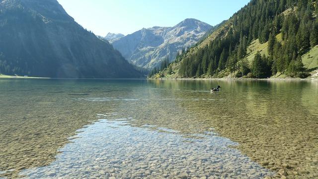 Tyrol tannheimertal vilstalsee.