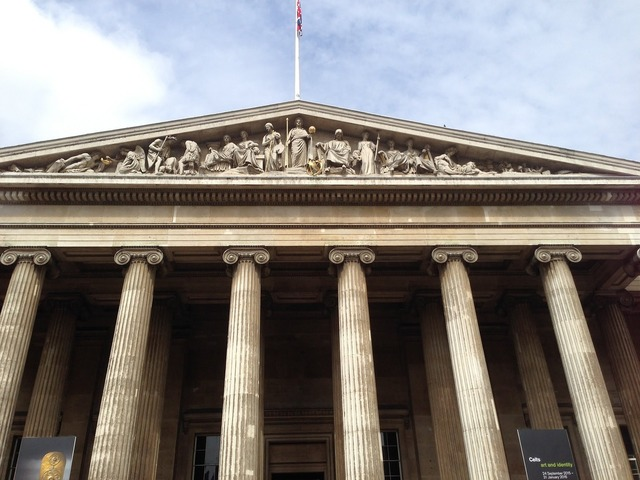 Uk british museum museum, architecture buildings.