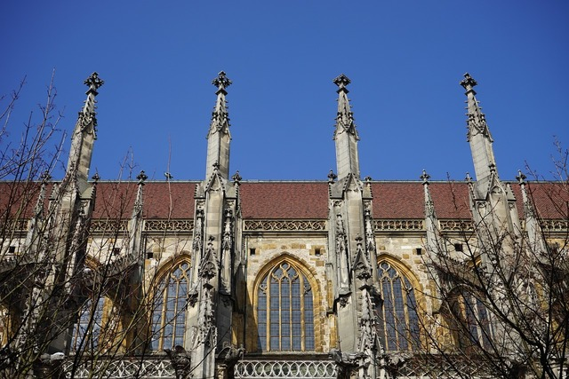 Ulm cathedral aisle carrier, architecture buildings.