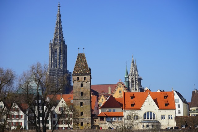 Ulm cathedral metzgerturm ulm, architecture buildings.