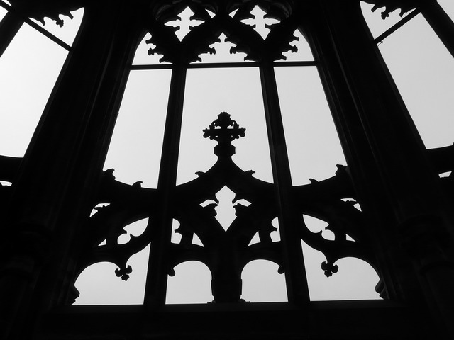 Ulm cathedral window münster, architecture buildings.