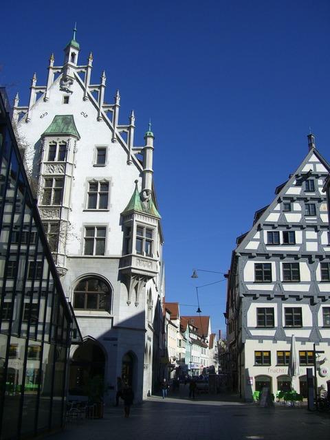 Ulm old town fachwerkhaus, architecture buildings.