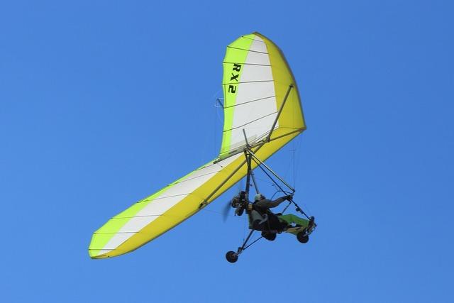Ultra-light fly motorflug.