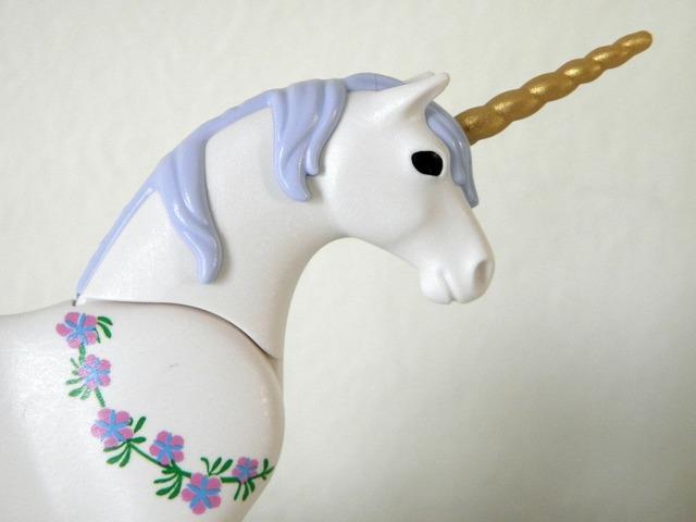 Unicorn horse ross, people.