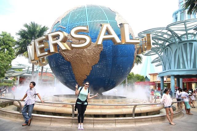 Universal studios singapore fun.