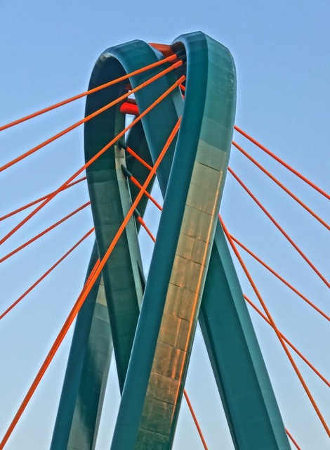 University bridge bydgoszcz brda.