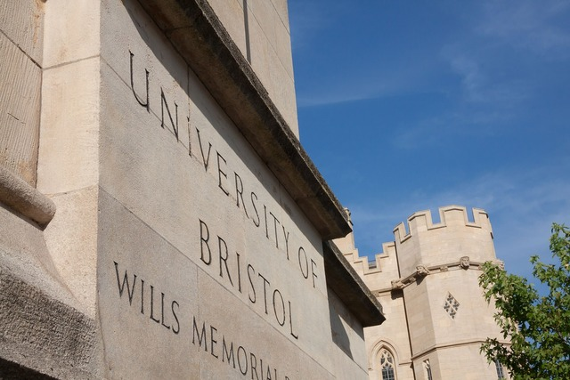 University bristol shield, architecture buildings.