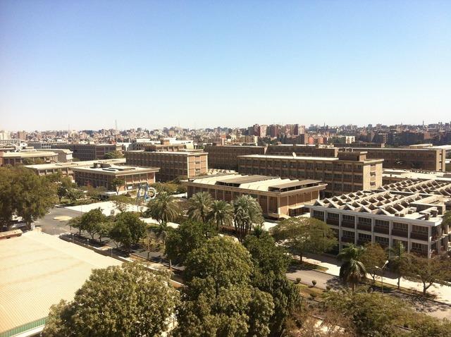 University egypt college, architecture buildings.
