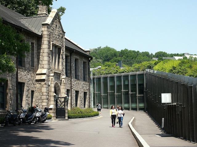 University ewha building, architecture buildings.