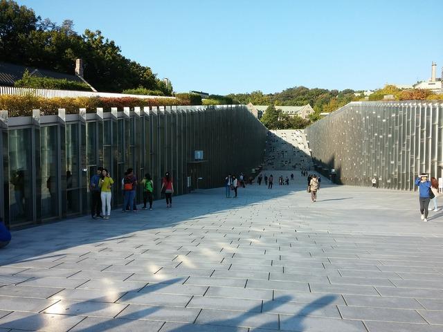 University seoul building, architecture buildings.