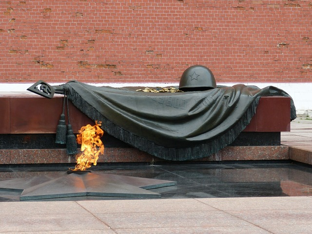 Unknown soldier moscow russia.