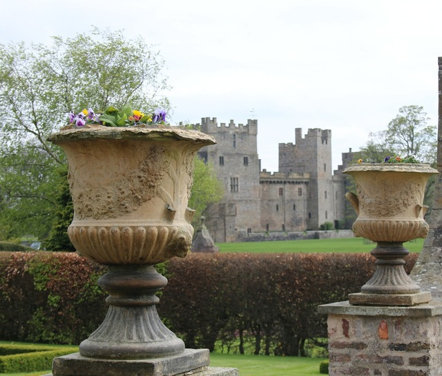 Urn castle fortress, architecture buildings.