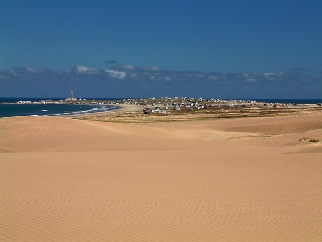 Uruguay polonium out dunes, travel vacation.