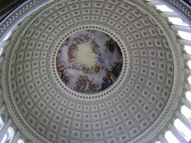 Us capitol cupola rotunda.