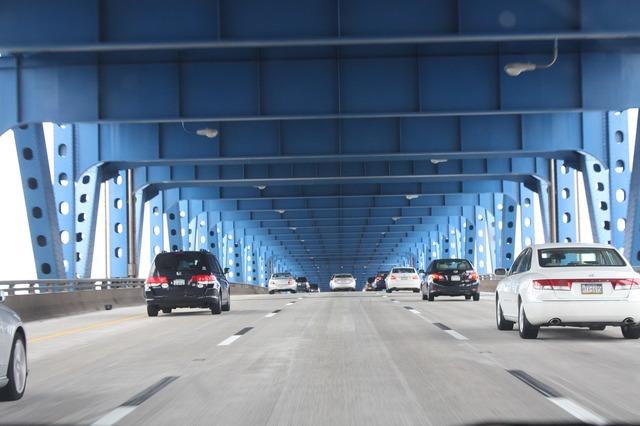 Usa bridge philadelphia, transportation traffic.