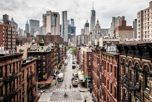 Usa manhattan new york, transportation traffic.