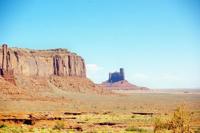 Usa monument valley desert.