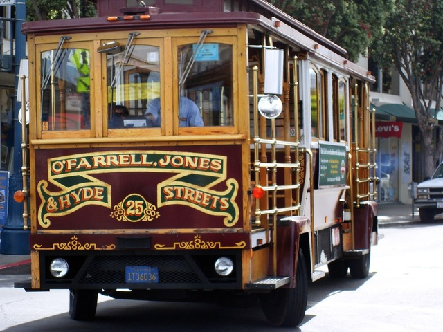 Usa san francisco california, transportation traffic.