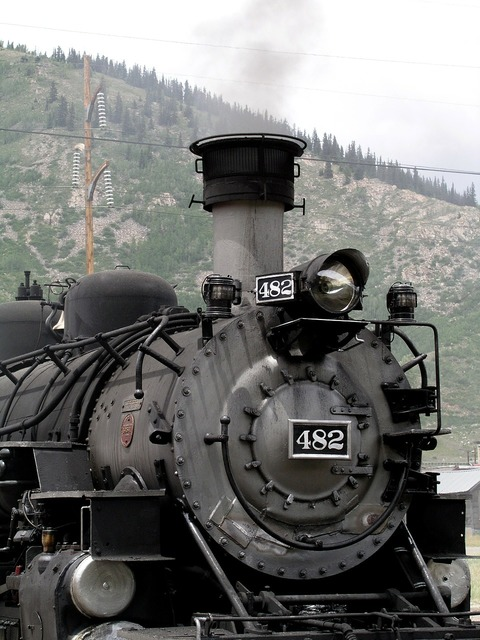 Usa steam locomotive locomotive.