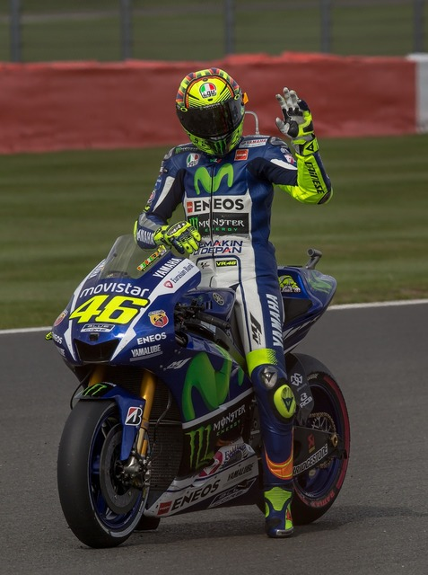 Valentino rossi motorcycle gp.