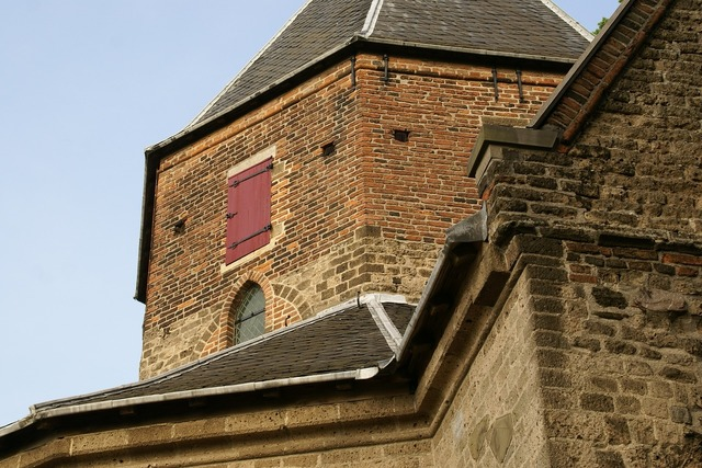 Valkhof chapel netherlands, architecture buildings.