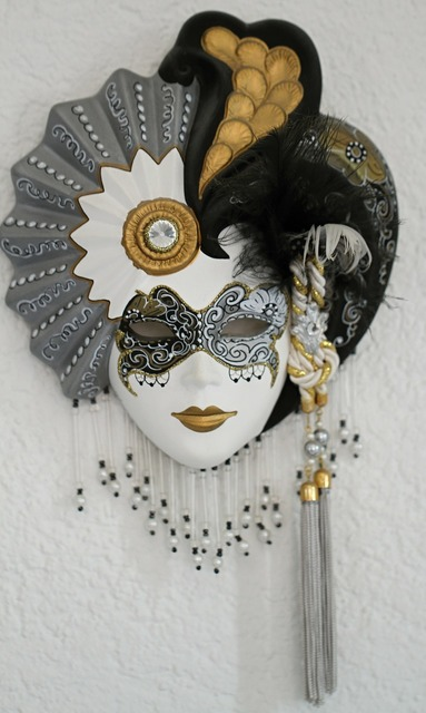 Venetian masks italy, industry craft.