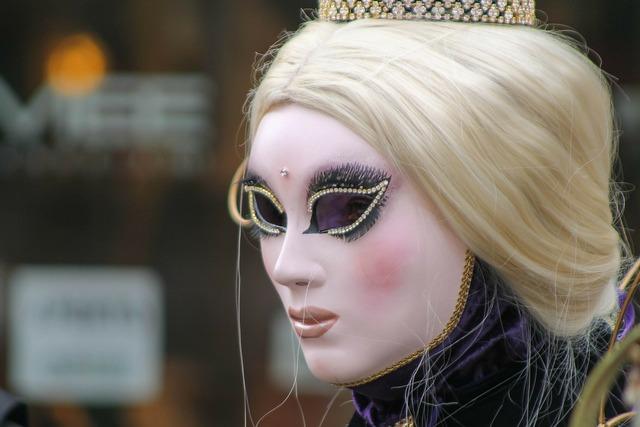 Venice carnival mask, beauty fashion.