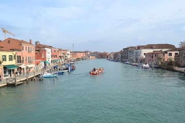 Venice island of murano italy.