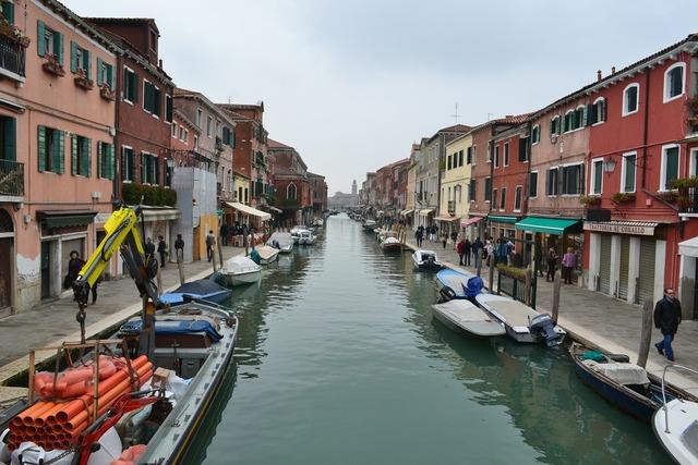Venice italy boats.