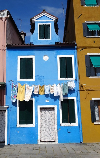 Venice italy burano, architecture buildings.