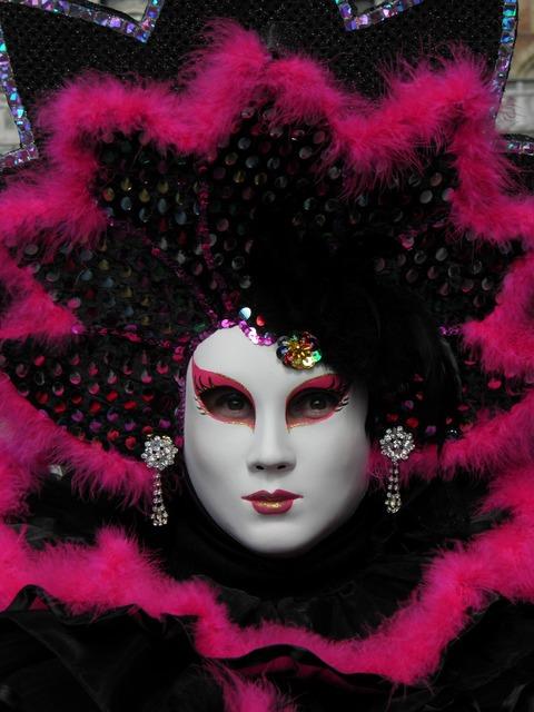 Venice italy carnival.