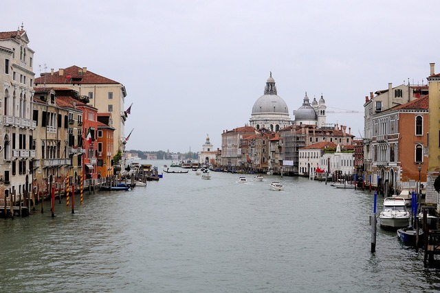 Venice italy channel.