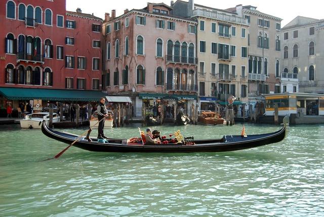 Venice italy gondola.