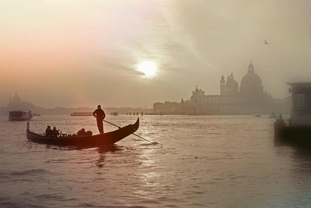 Venice italy gondola, architecture buildings.