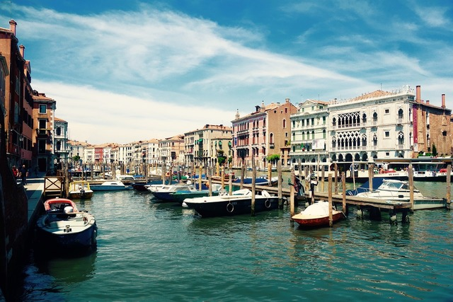 Venice italy grand canal.