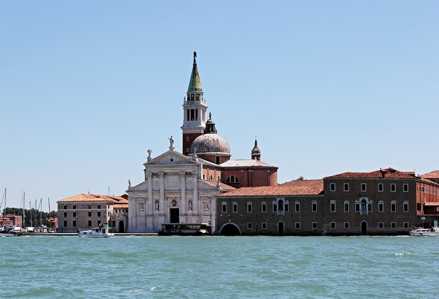 Venice italy history, places monuments.