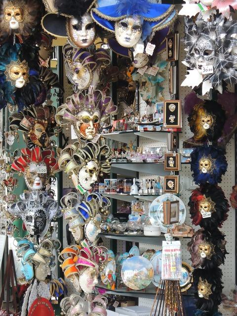 Venice italy masks.