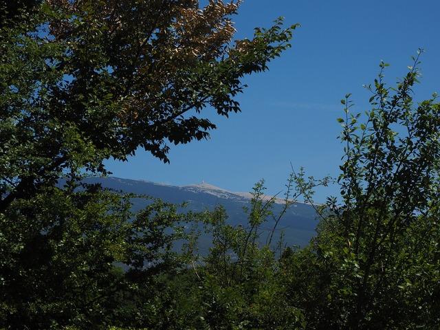Ventoux mountain provence, nature landscapes.