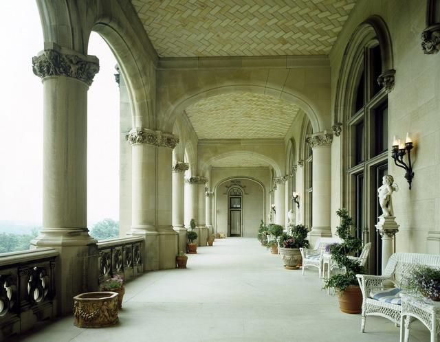 Veranda mansion estate, architecture buildings.