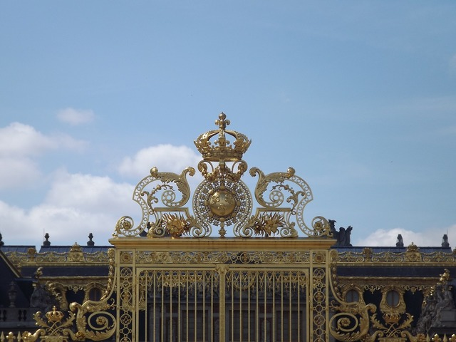 Versailles france gate, travel vacation.