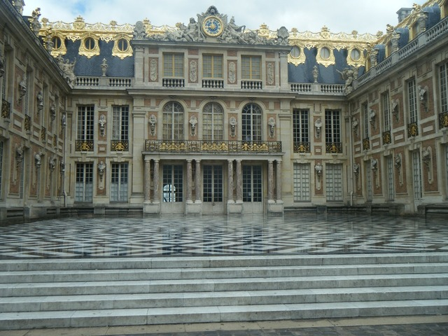 Versailles france the palace, architecture buildings.
